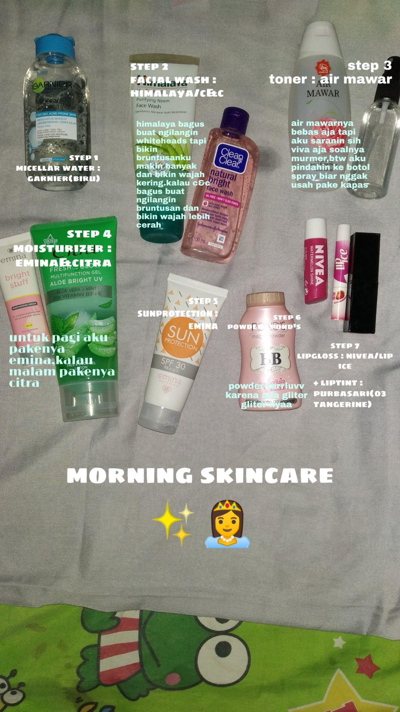Buat Kulit Bruntusan Dan Kuit Kering Aku Reccomed Skincare Yg Diatas Di 2020 Perawatan Kulit Produk Perawatan Kulit Kosmetik Alami