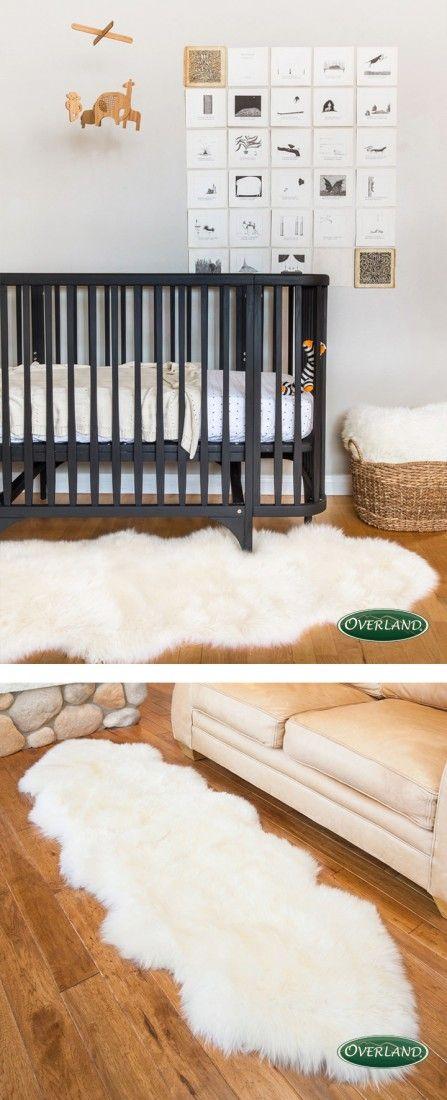 Sheepskin Rugs Nursery Neutral Sheepskin Rug Kid Room Decor
