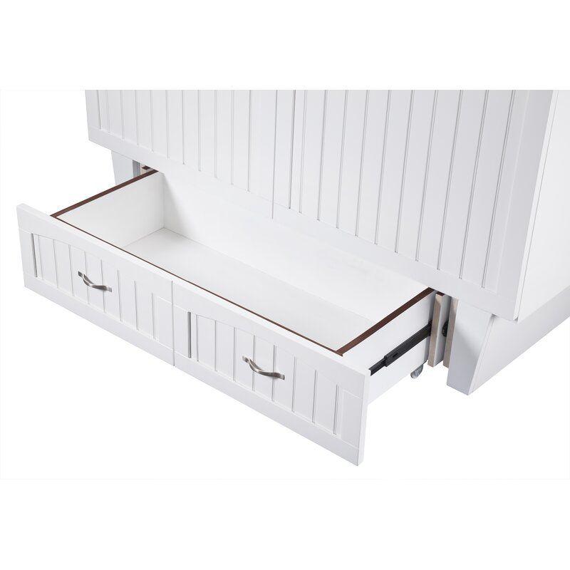 Beachcrest Home Graham Queen Storage Murphy Bed with Mattress & Reviews | Wayfair
