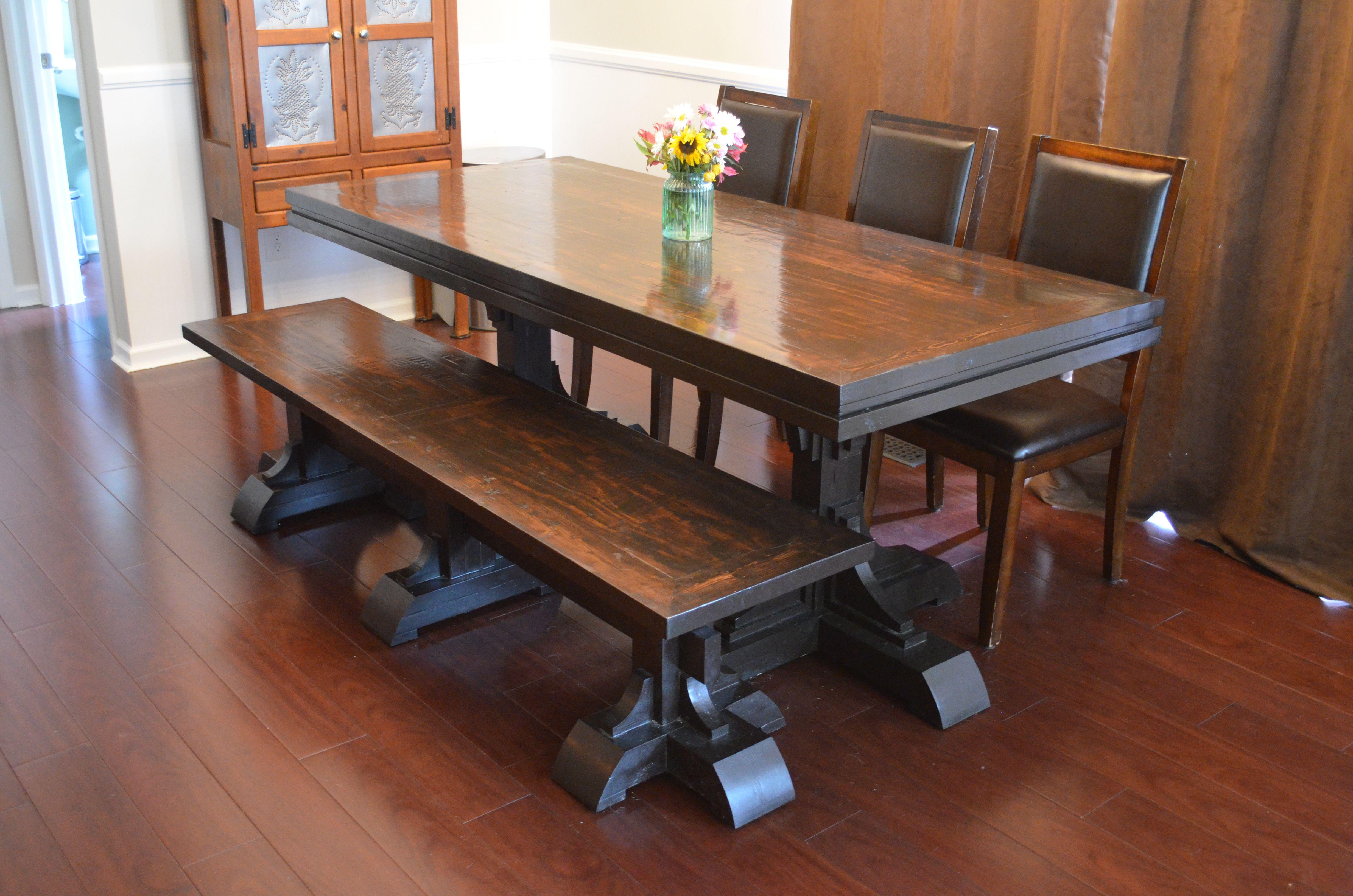 Pin by Evan on Wood Farmhouse table, Farmhouse table