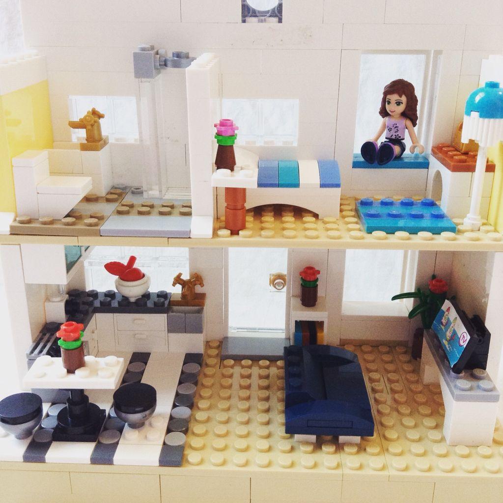 Victorian Lego house interior   Lego house, Lego friends, Lego diy