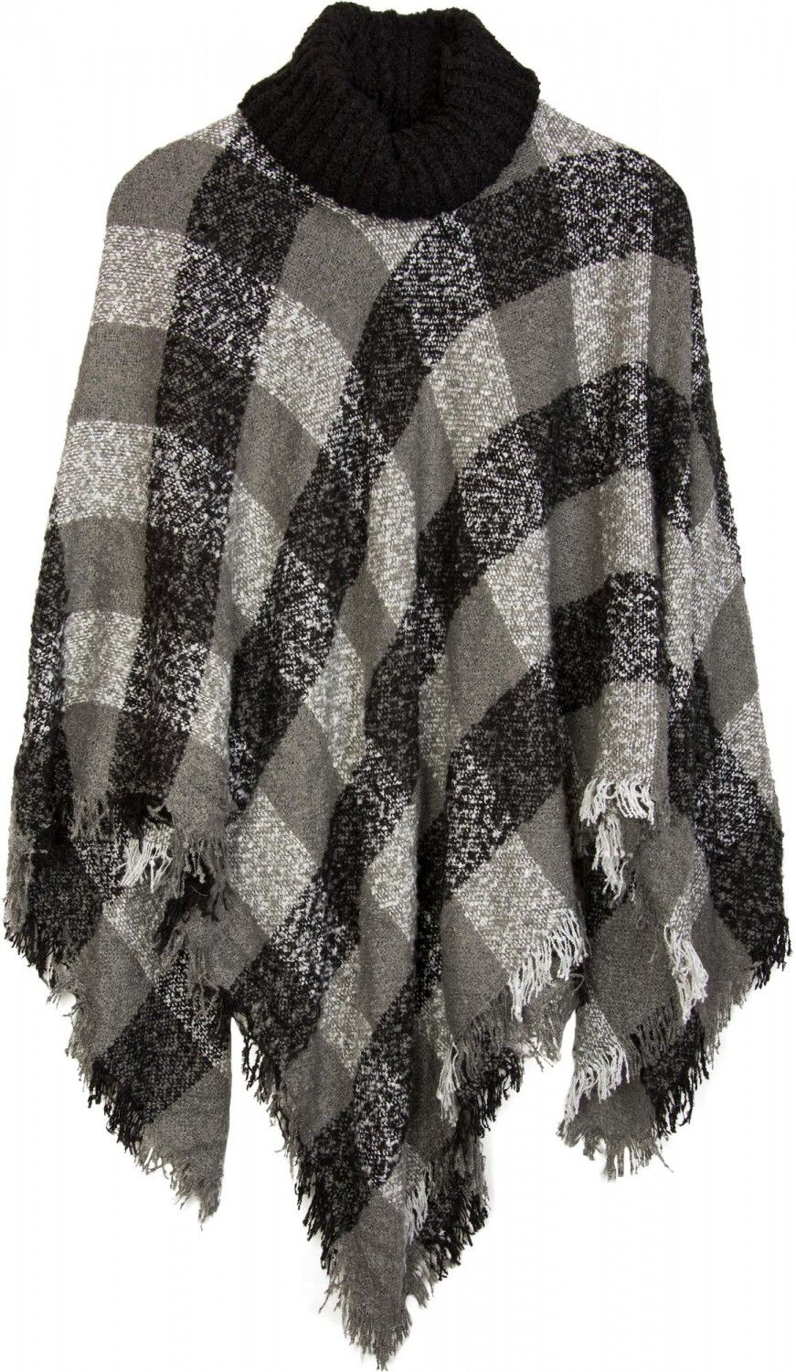 Charmant Leicht Strickponcho Muster Ideen - Strickmuster-Ideen ...