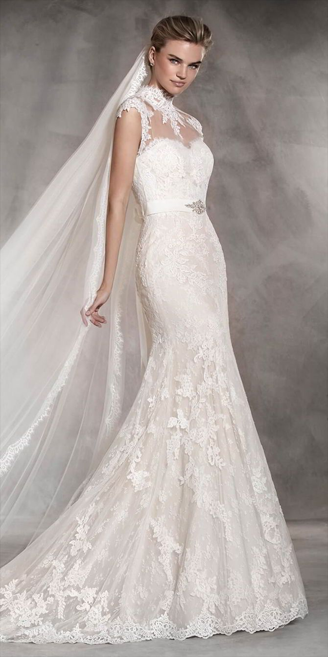 Pronovias 2017 Wedding Dresses   Special dresses, Tulle lace and ...