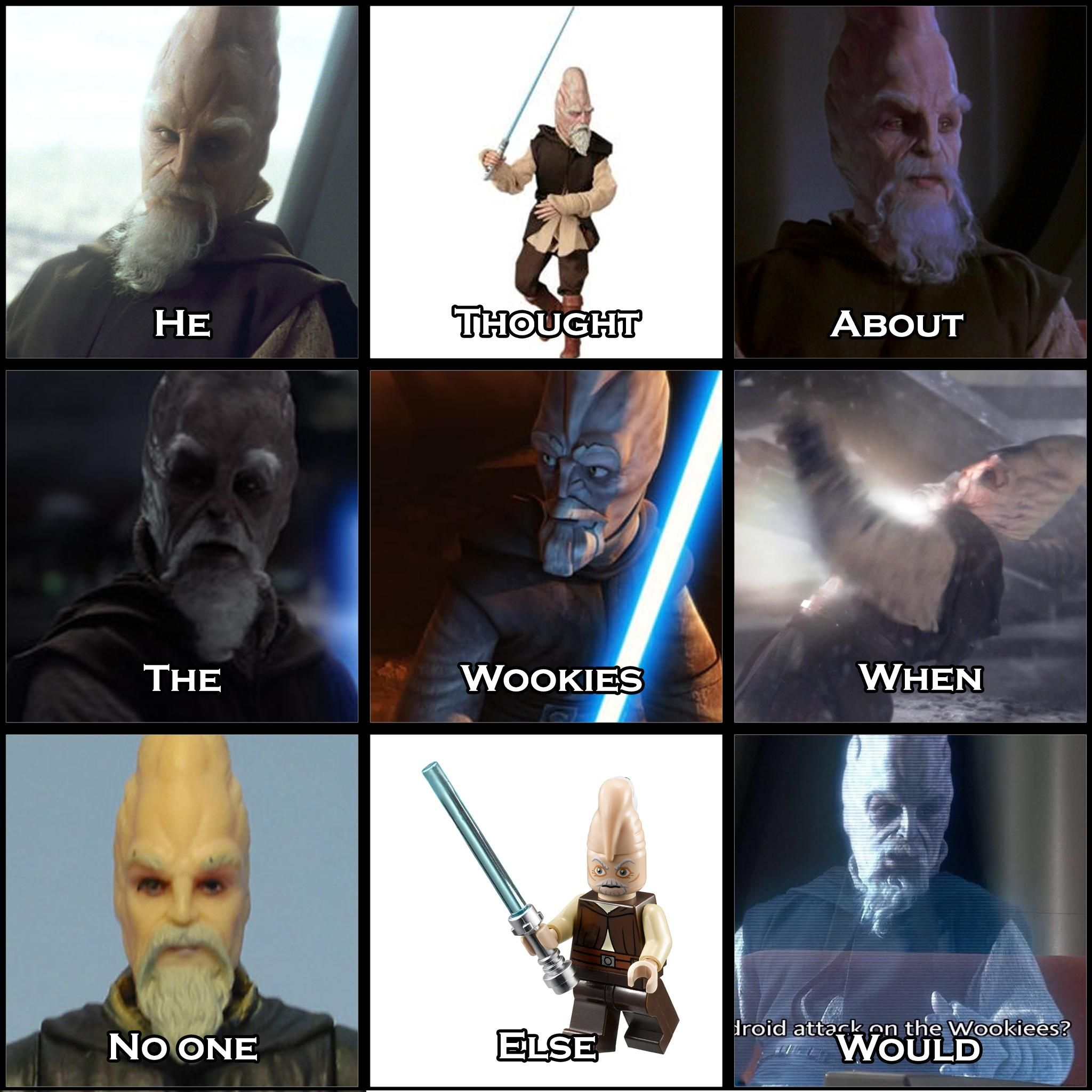 He Thought About The Wookiees When No One Else Would Star Wars Fandom Star Wars Memes Star Wars Episodes