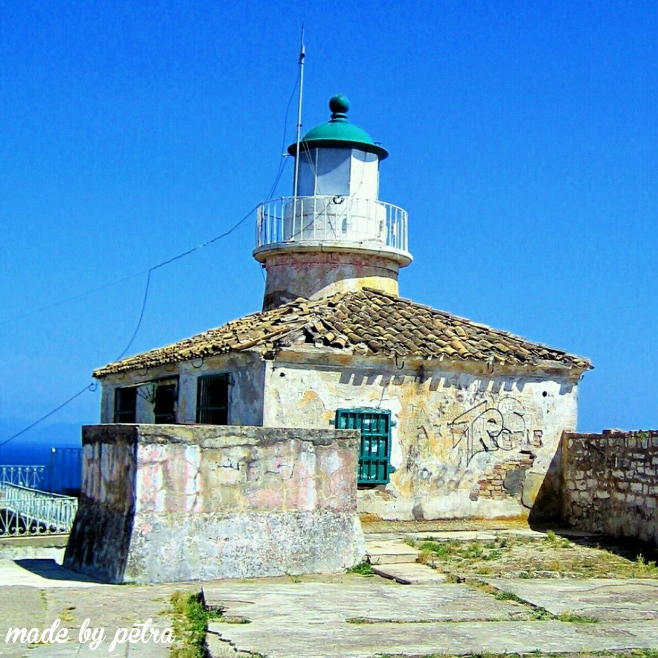 Old lighthouse in corfu town