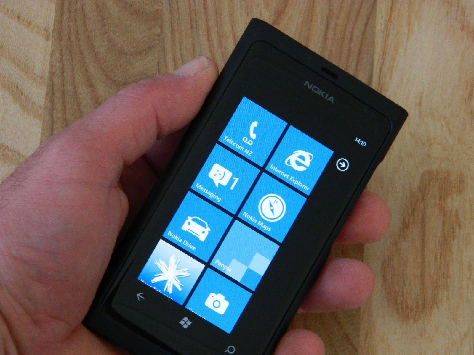 My own phone Nokia Lumia 800 Phone