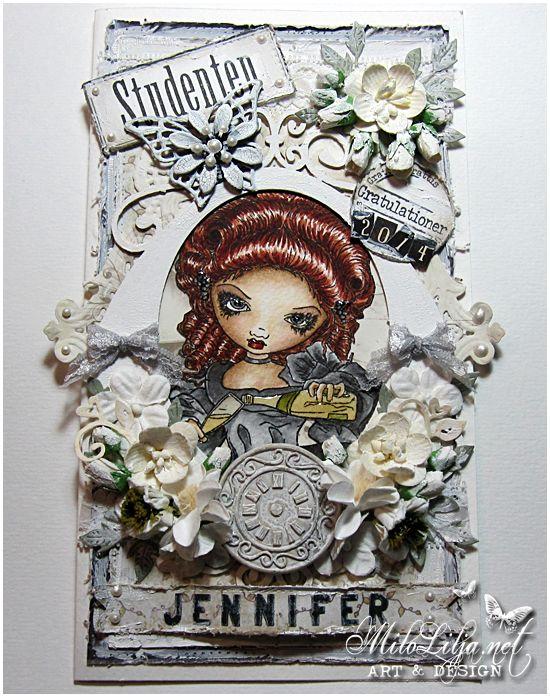 Made by Milo Lilja - Welcome to my blog: http://milolilja.net - #art #scrap #scrapbooking #creative #handmade #student