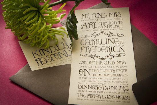 invitation font
