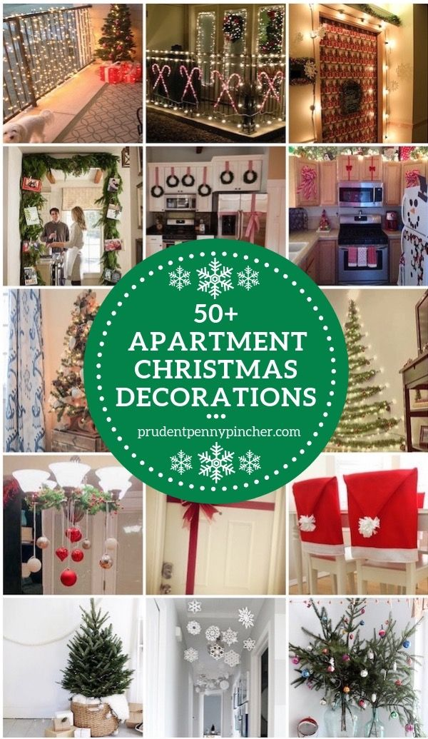 50 Apartment Christmas Decorations Christmas Pinterest