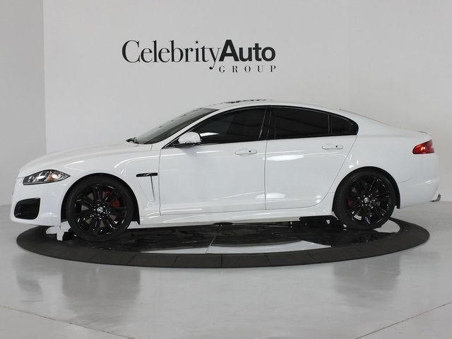 Jaguar Xf White With Black Rims