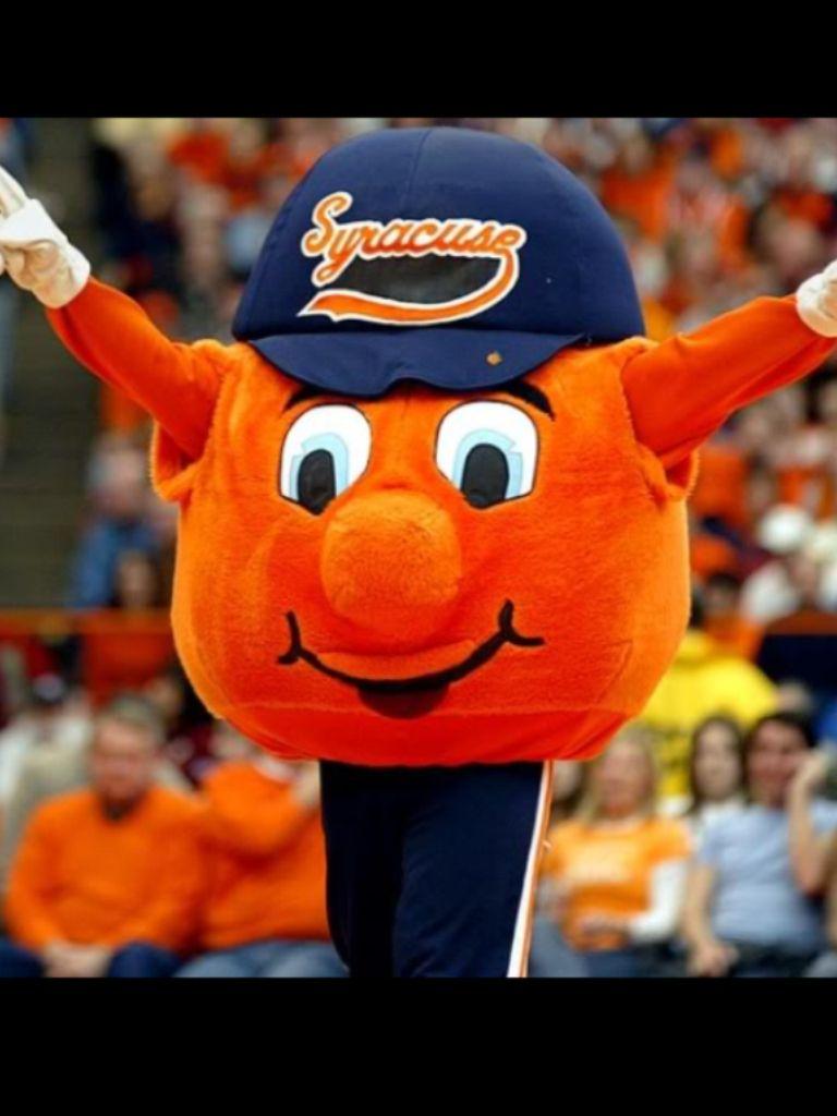 Otto Syracuse Mascot Syracuse Basketball Syracuse
