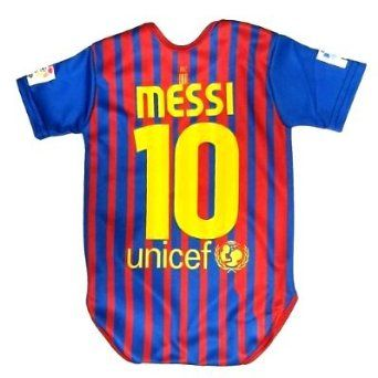 reputable site b40e0 a7b99 Messi# Baby Suit 0-9 months #Barcelona #Home   Baby   Soccer ...