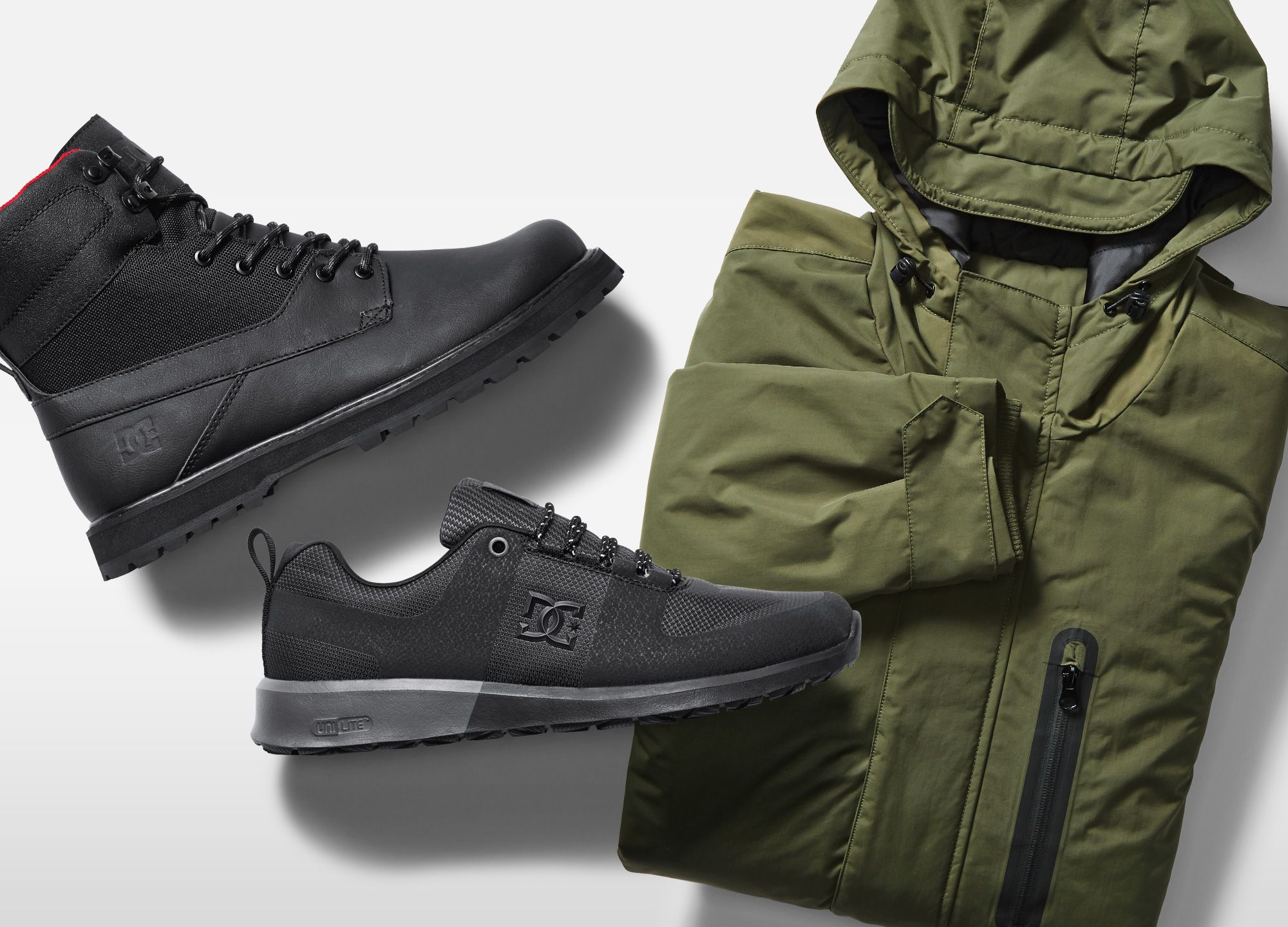 86f34685179 The Militant Collection features the Grasmere parka, Lynx Lite R and ...
