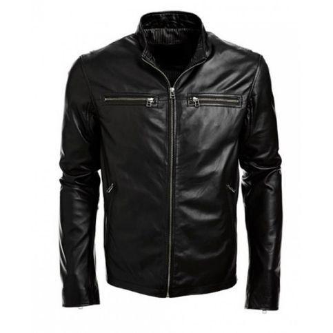 Mens Biker Jacket Black Real Leather Jacket Leather Jacket Men Black Leather Jacket Men Leather Fashion Men