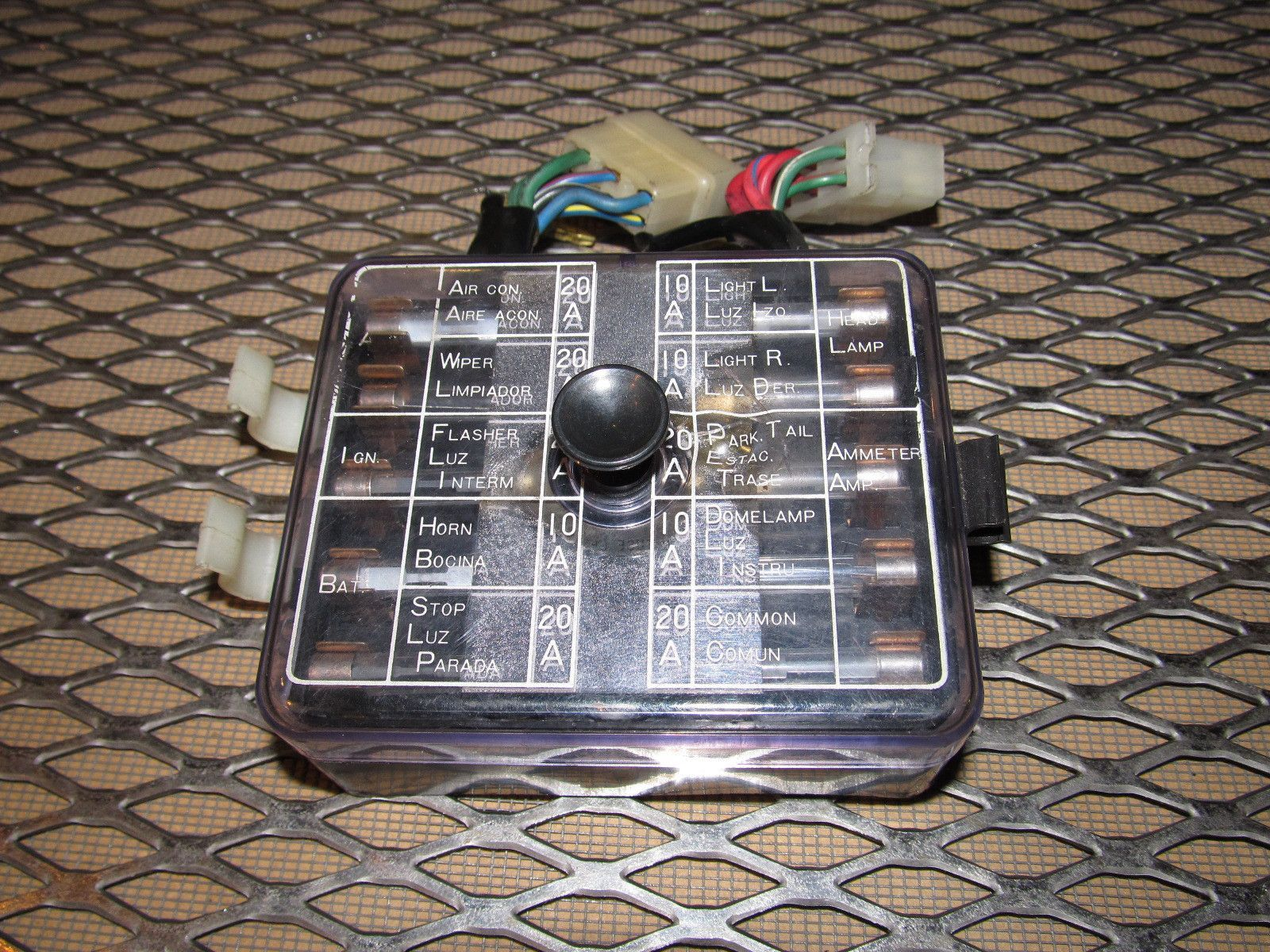 240z Fuse Box Explained Wiring Diagrams Melted 72 73 Datsun Oem Interior Products Pinterest Melting