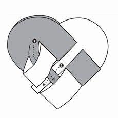 12654 Punotut sydämet