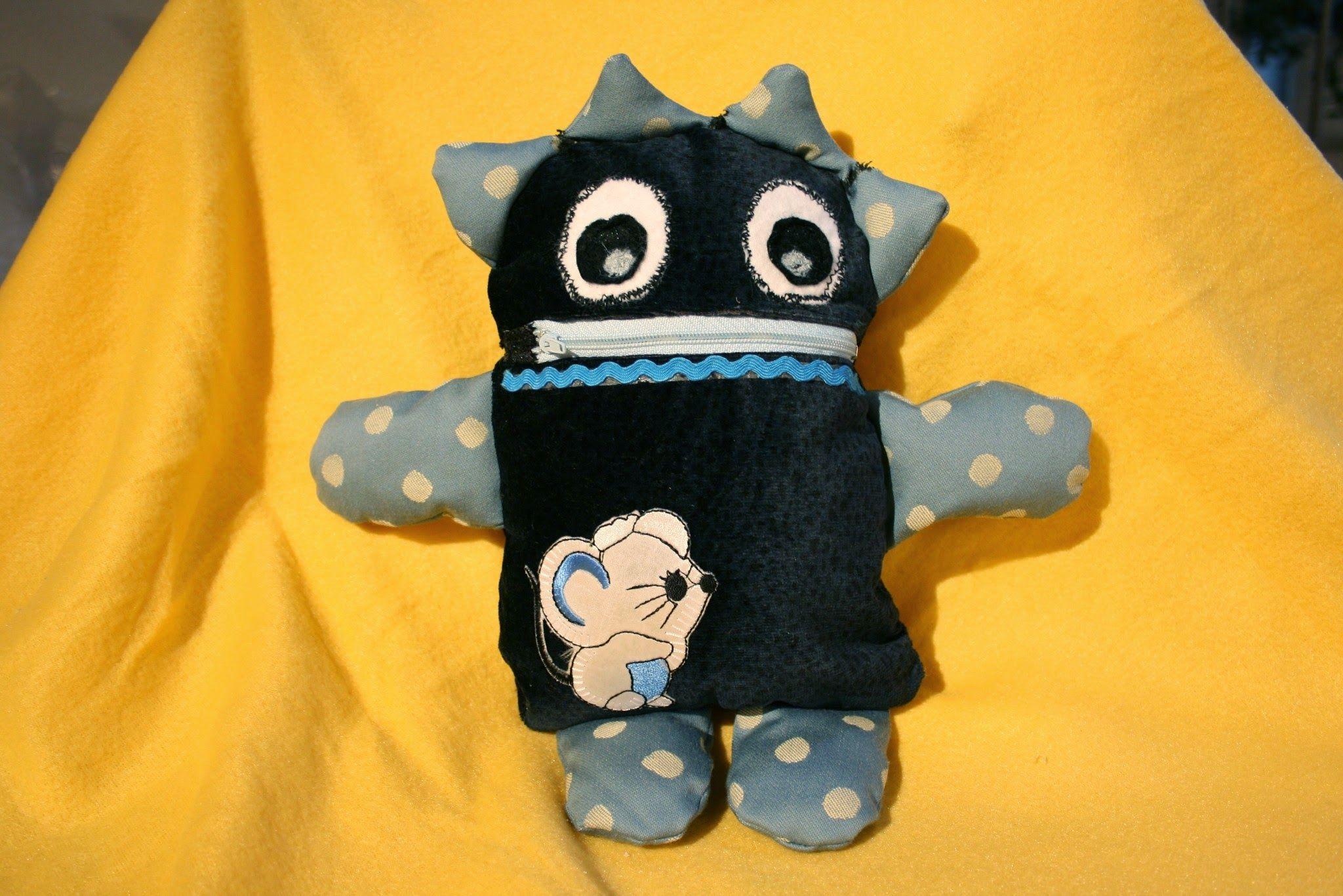 blaues Monsterle