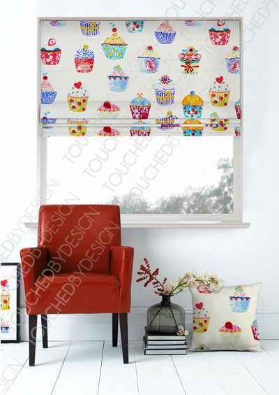 Cupcake Heaven Great Prints At Roman Blinds Direct Dream House