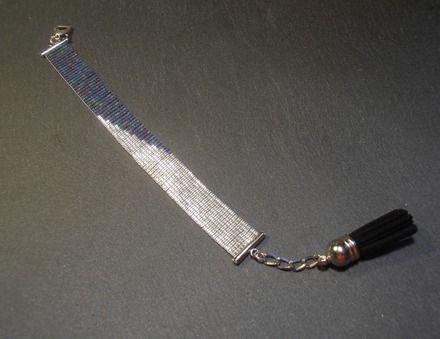 Bracelet manchette tissé à la main en perles Miyuki. Loom, seed bead.