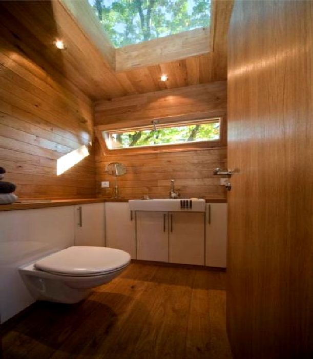 Bon Toilet Tree House Design Ideas, Photo Toilet Tree House Design Ideas Close  Up View.