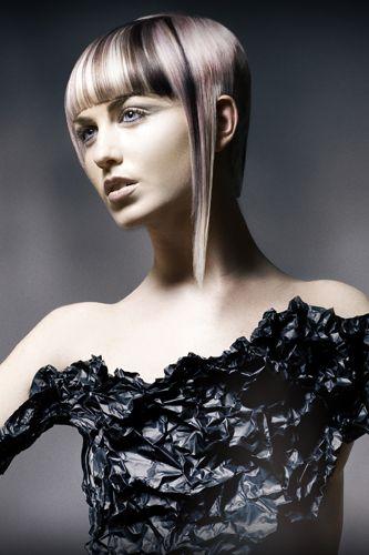 präsentiert von www.my-hair-and-me.de #women #hair #haare #dress #kleid #short #long #lang #kurz #grey #grau #black #schwarz
