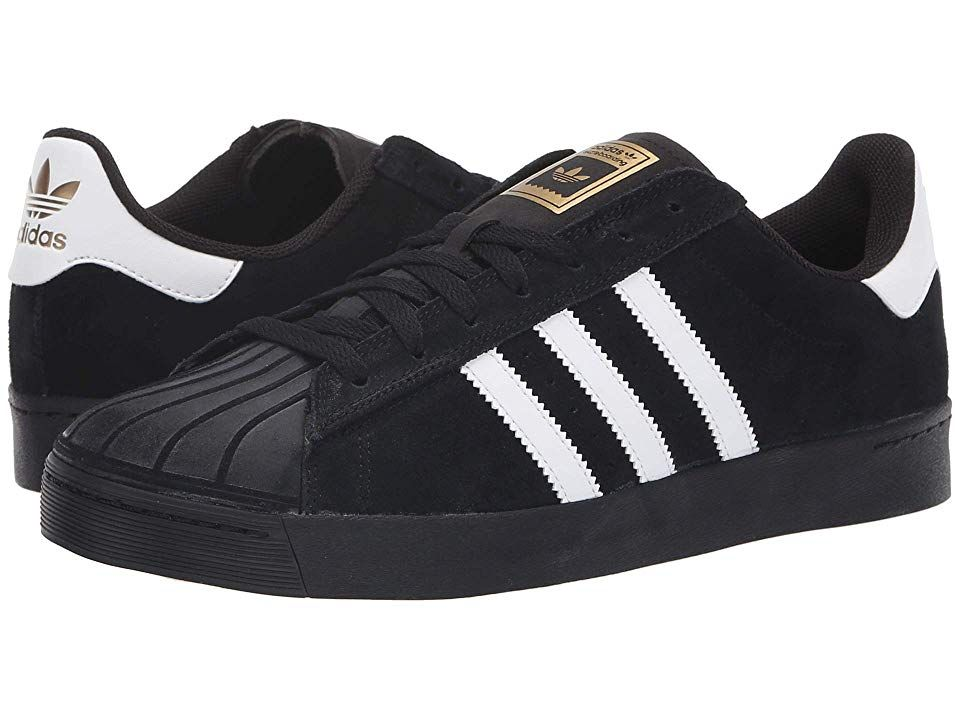 adidas Skateboarding Superstar Vulc ADV (BlackWhiteGold