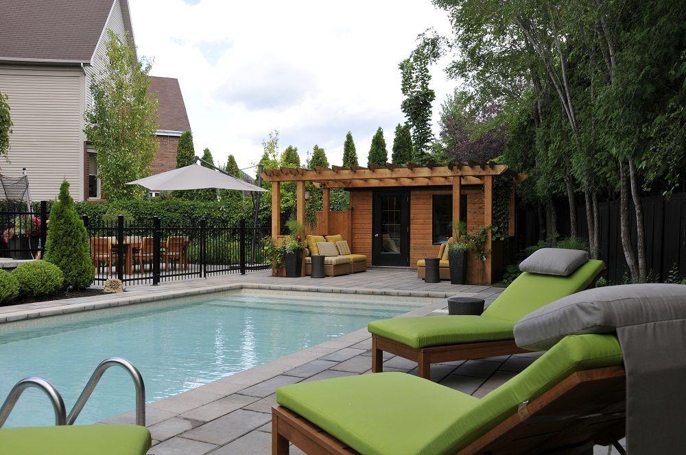 Aménagement piscine; les terrasses pour le coin détente, le coin - amenagement autour d une piscine