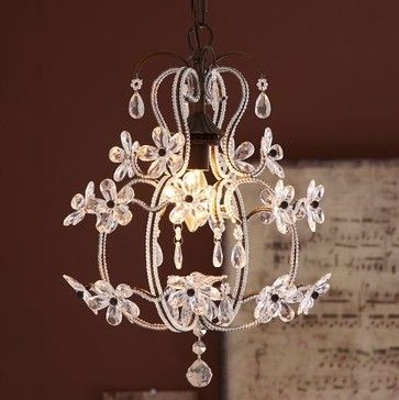 Magical Little girls room - Luce Chandelier - modern - chandeliers - PBteen
