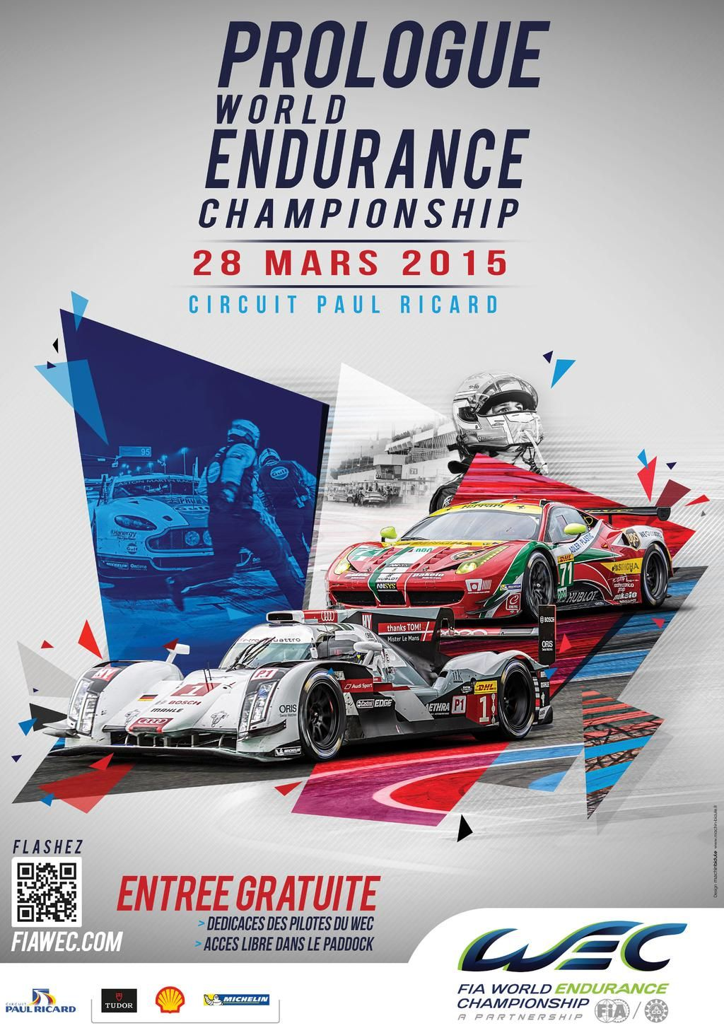 24 Heures du Mans on Sports graphic design, Event poster