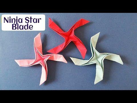 Origami ninja Star оригами звезда - YouTube   360x480