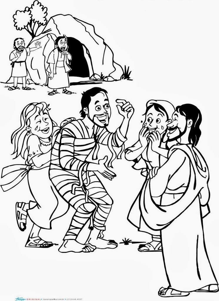 LA RESURRECCIÓN DE LÁZARO | Me Aburre la Religión | Manualidades ...