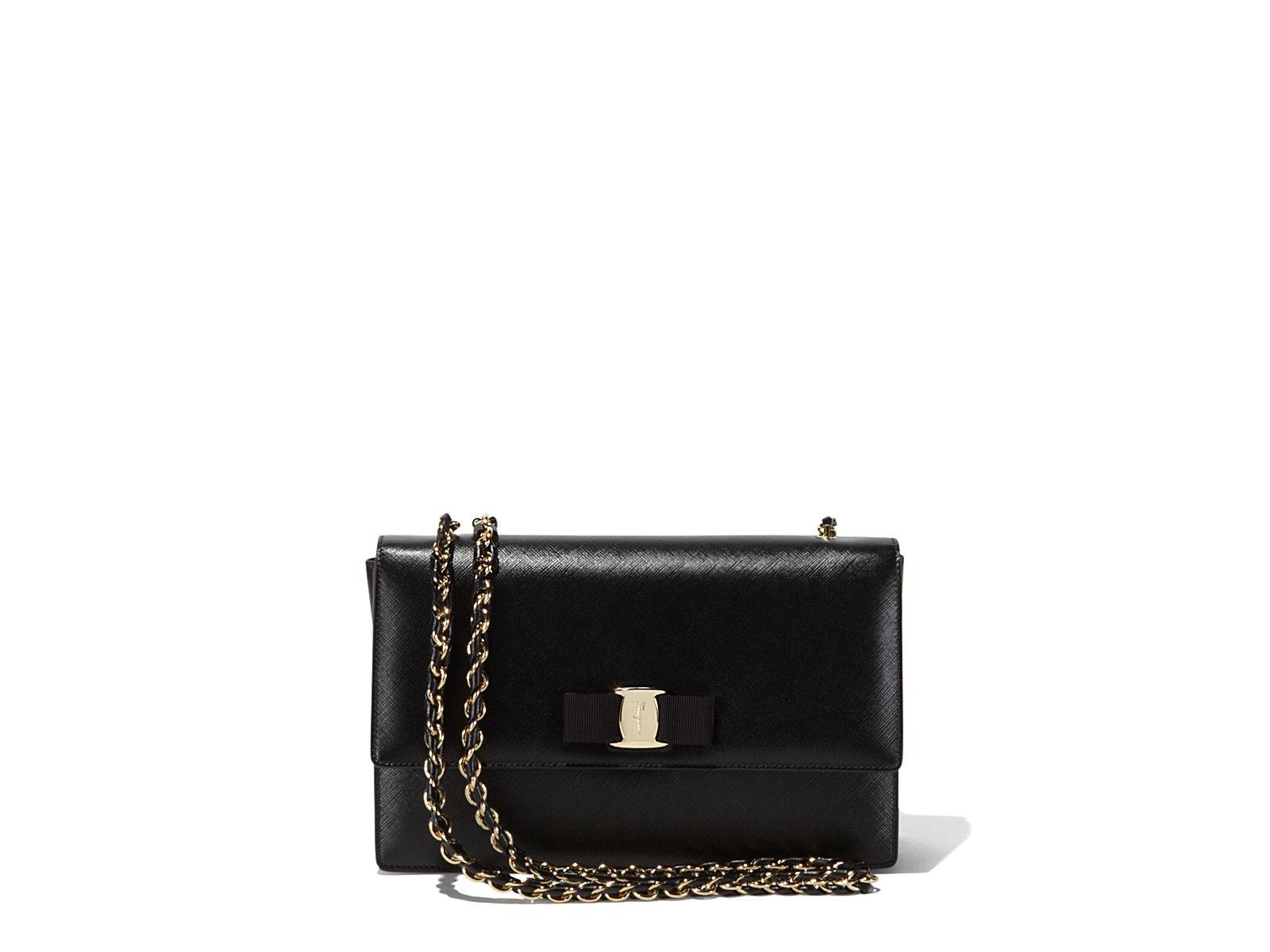 8c60758b0f Medium Vara Flap Bag - Handbags - Women - Salvatore Ferragamo ...