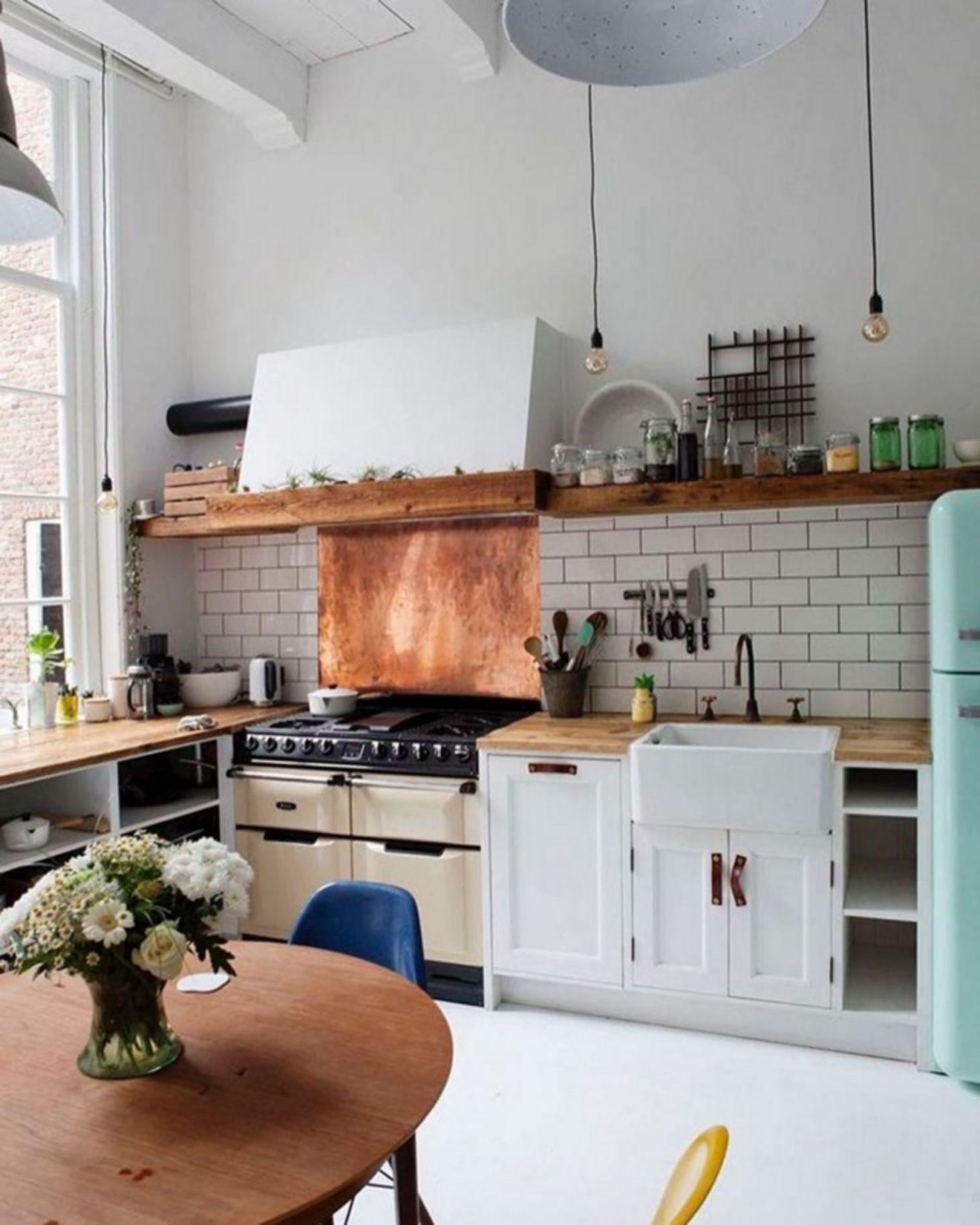 Best 25 Cozy Bohemian Kitchen Design Ideas For Your Kitchen 640 x 480