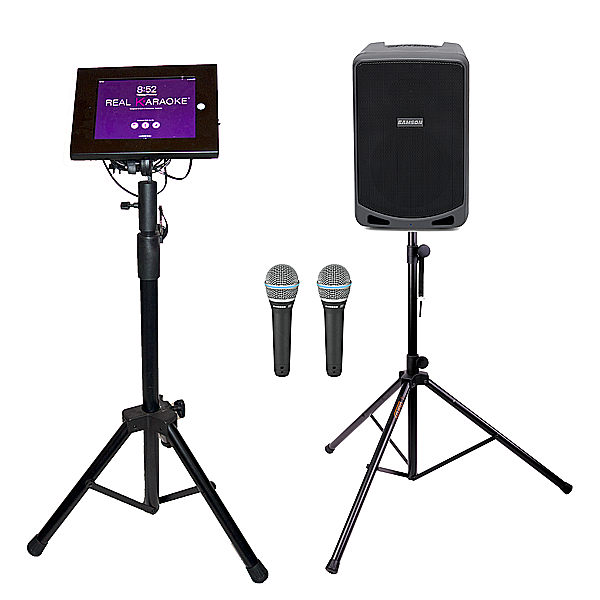 Complete Custom REAL KARAOKE® iPad Controlled Karaoke Systems. Thousands of quality hit songs, all genres. #karaokesystem Complete Custom REAL KARAOKE® iPad Controlled Karaoke Systems. Thousands of quality hit songs, all genres. #karaokesystem