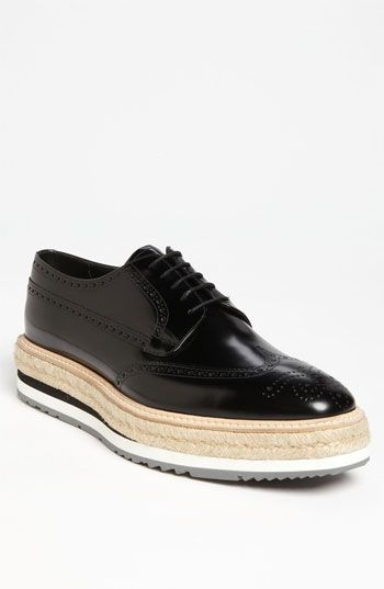 a1b7960ce5ba Chaussures Habillées · UGH, want these soooo bad. Prada Triple Sole Wingtip  available at Nordstrom Chaussures Homme