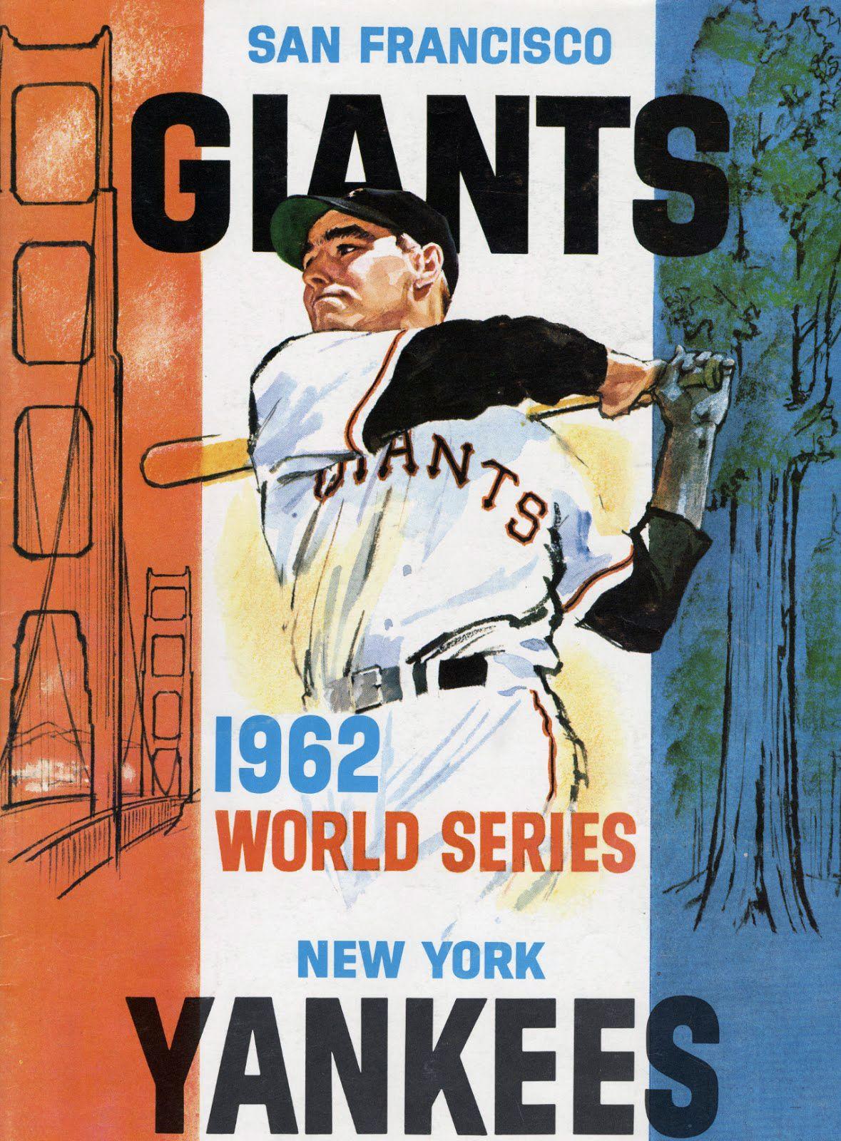 1962 World Series Program
