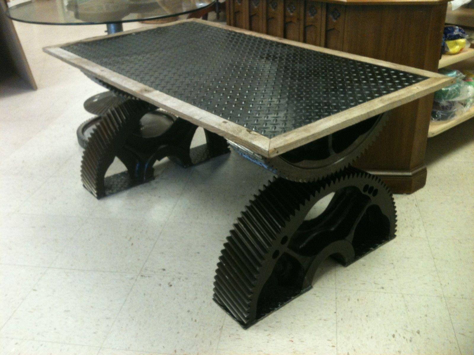 Steampunk Gear Coffee Table | EBay $1000
