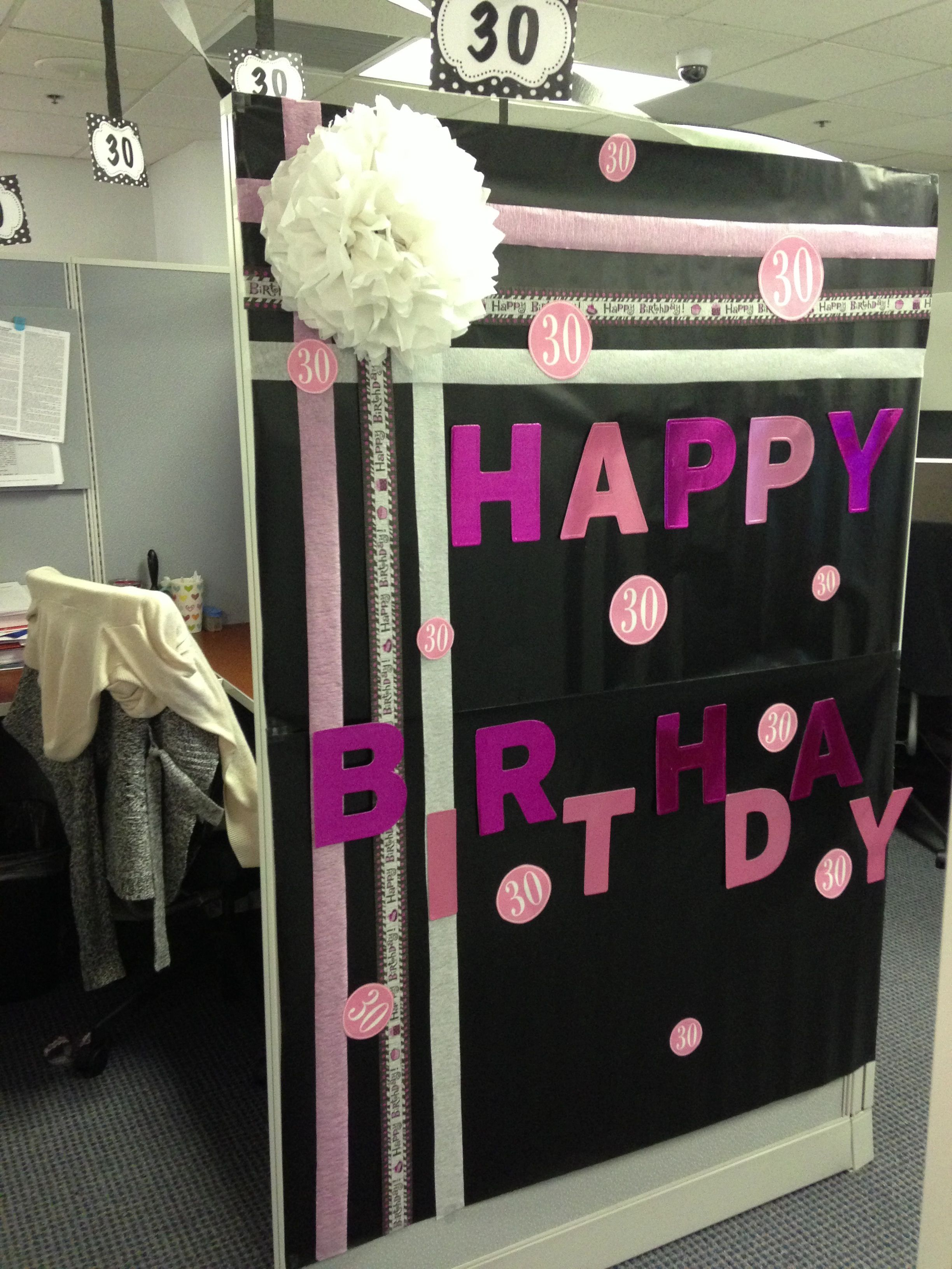 Cubicle Decorations For Birthday Cubicle Decors Workplace Decoration Ideas Pinterest Birthday