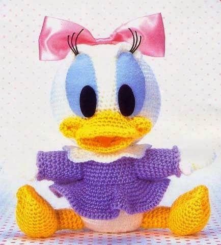 Daisy,Disney,Häkelanleitung , Kostenlos, | Häkeln | Pinterest ...