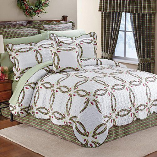 Brylanehome Holly Christmas Quilt Set BrylaneHome http://www ...