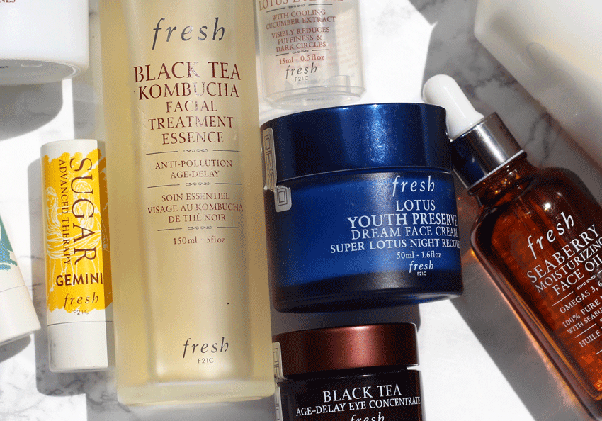 Fresh is one of my favorite beauty brands! Long before I