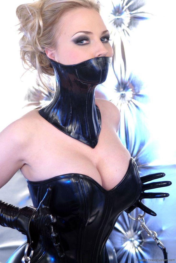 Two fetish models gagged living room bondage of clarissa 4