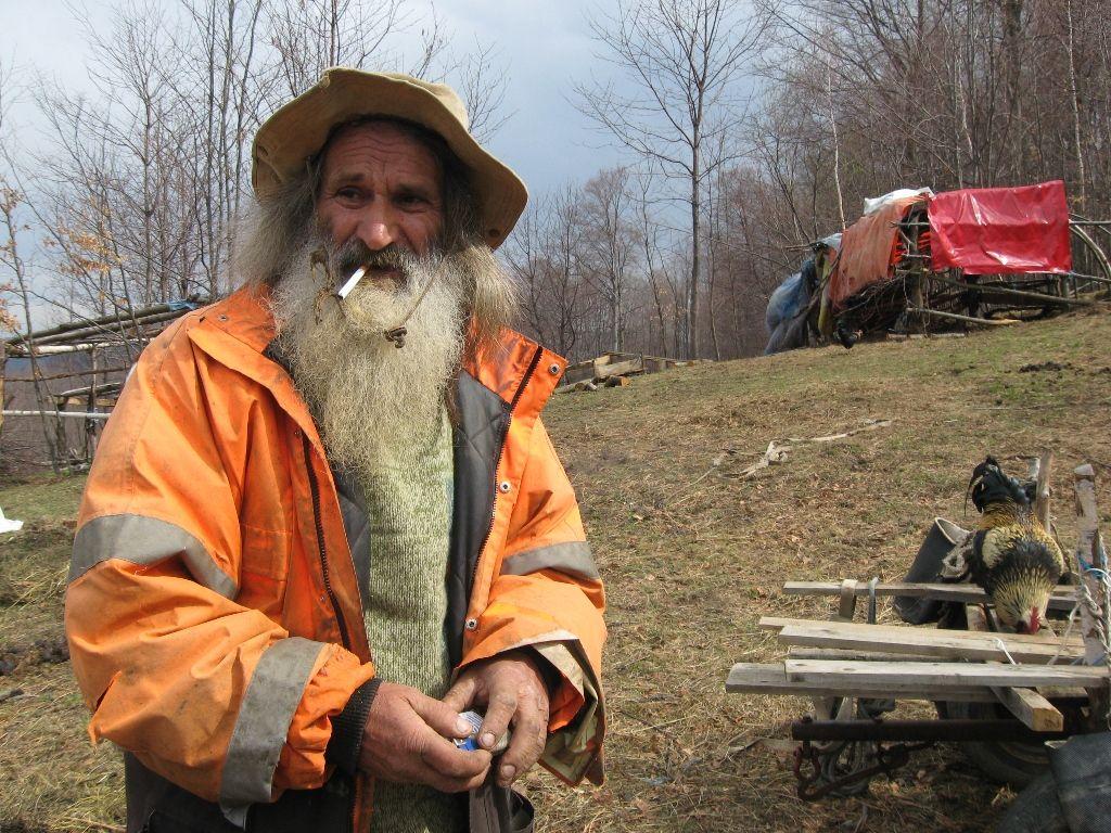 Emin Bektic, a father of ten in Bosnia and Herzegovina. Sadik Salimovic.