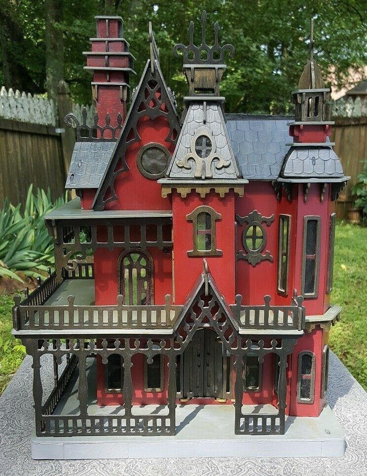 Details about Dollhouse Victorian House Wood Vintage Miniature Accessories Furniture Set Lot #haunteddollhouse - PI professional Blog #dollhousefurniture