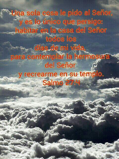 Salmo 27 4 Nubes Paisajes Fotografia Paisaje