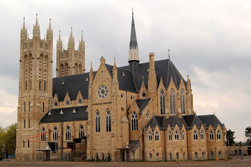 Church Of Our Lady Immaculate In Guelph Ontario Gothic Revival