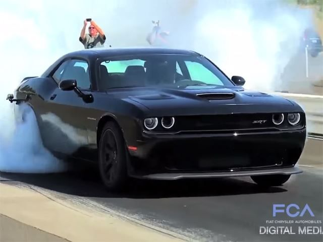 Dodge Wishes Everyone A Happy New Year With Compilation Of Hellcat
