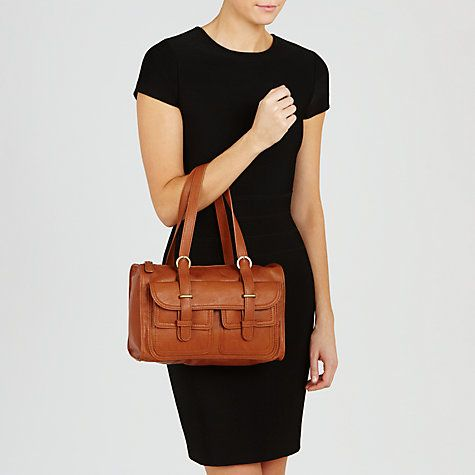 Collection WEEKEND by John Lewis Grainy Grab Bag, Tan