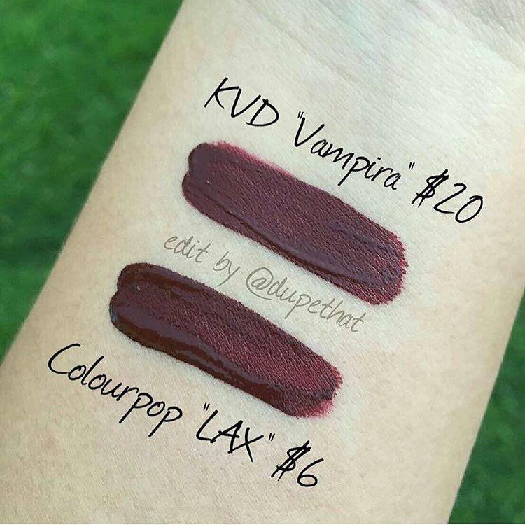 Han On Instagram روج Lax من كلربوب اللي تكلمت عنه بالصورتين السابقه يعتبر بديل ل الروج السائل من كات ڤ Lipstick Dupes Expensive Makeup Makeup Dupes