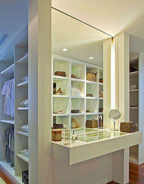 c958a201b6 Construindo Minha Casa Clean  Closet e Armário - 10 Dicas para Organizar e  Decorar!